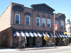 downtown Hawley PA