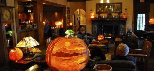 Storytelling Dinner and Annual Pumpkin Carving night